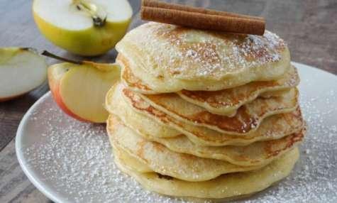 Pancakes aux pommes facile et rapide