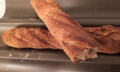 Baguette express à la farine complète