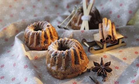 Cake saveurs de pain d'épices et chocolat