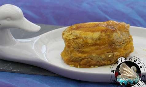 Foie gras mi-cuit mangue gingembre