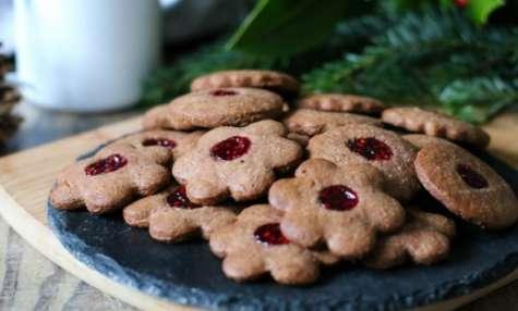 Linzer (biscuits confiture) - Bredele d'Alsace
