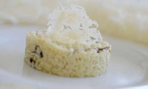 Recettes de truffes noires et de riz - Risotto noel ...