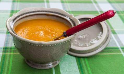 Velouté de carottes et patates douces
