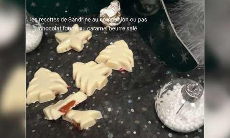 Chocolats fourrés au caramel beurre salé