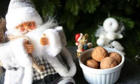 Truffes au caramel à la noix de coco
