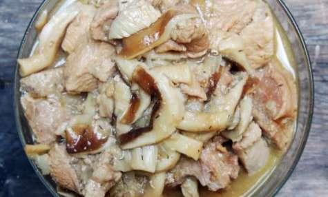 Sauté de veau aux shiitakes