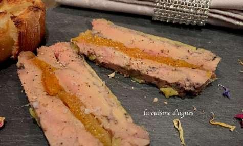 foie gras aux abricots, cuit au micro ondes