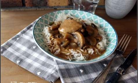 Filet mignon sauce au champignons et cèpes