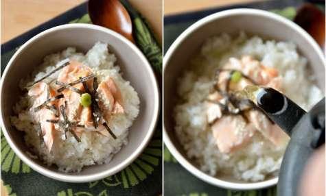 Ochazuke, riz au thé (お茶漬け)