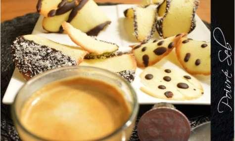 Farandole de biscuits tuiles - Poivré Seb