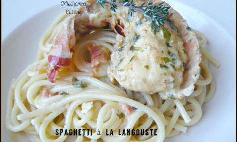 Spaghetti à la Langouste