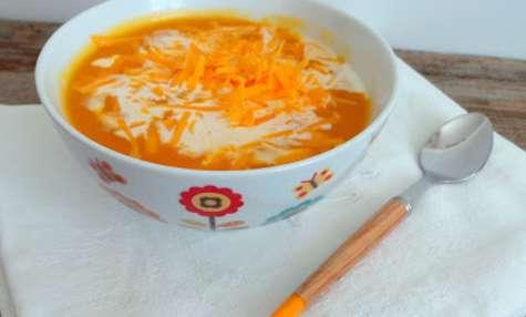 Soupe butternut, carottes, navets et mimolette