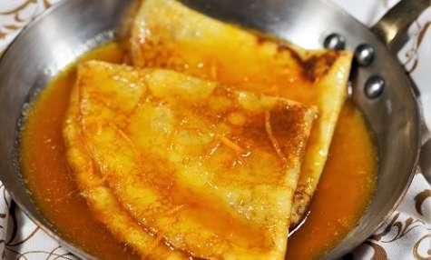 Crêpes Suzette, recette et origine