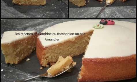 Amandier ou gâteau fondant aux amandes