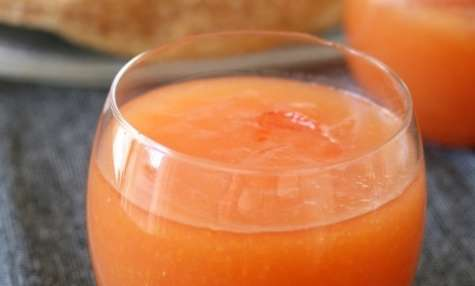 Curd d'oranges sanguines