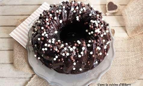Bundt cake scandaleusement gourmand au chocolat