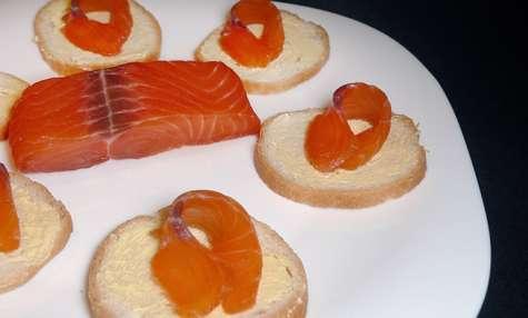 Saumon gravlax