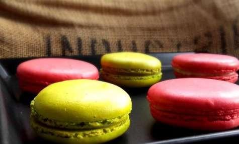 Macarons chocolat blanc Tonka