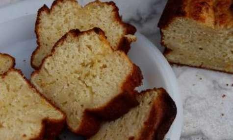 Gâteau au yaourt citron-cannelle