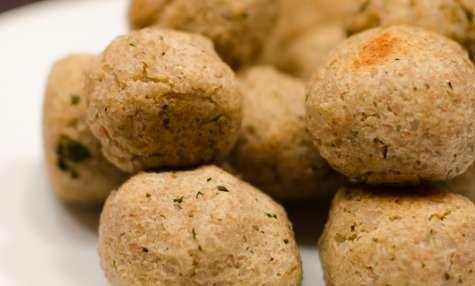 Croquettes de riz complet à la menthe