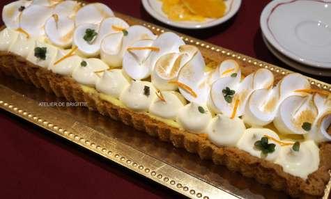 Tarte Orange et Meringue