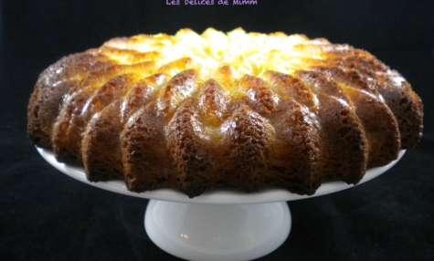 Gâteau moelleux aux pommes et mascarpone