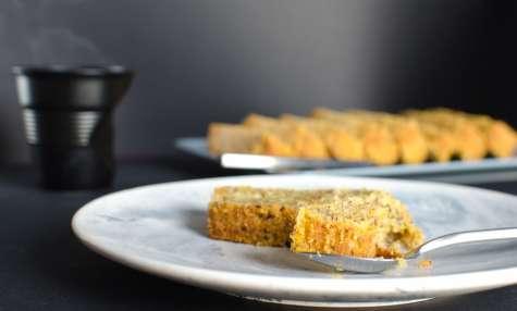 Recette de cake au potiron et noisettes