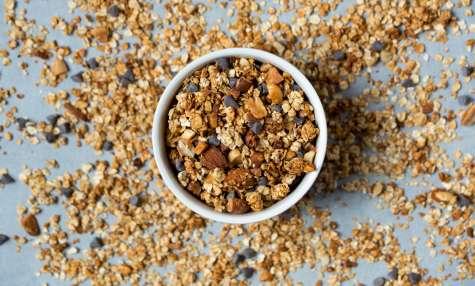 Granola maison aux cacahuètes