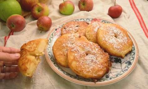 Beignets aux pommes faciles