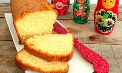 Cake au citron et à la bergamote