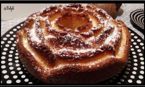 Gâteau au yaourt et à la noix de coco
