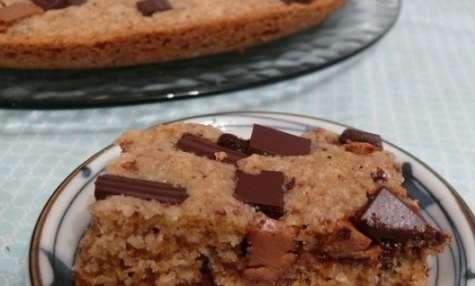 Cookie poêlé noisette chocolat