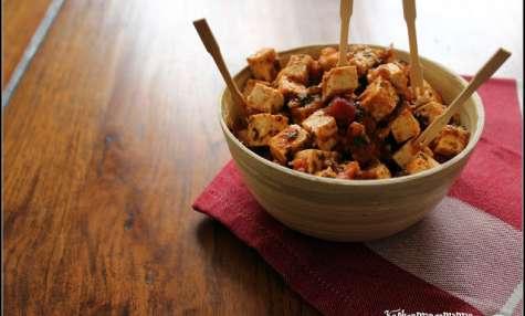 Tofu en escabèche