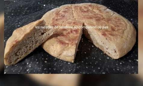 Matlou, pain marocain cuit à la poêle