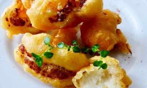 Beignets de chou-fleur à l'ail et au paprika