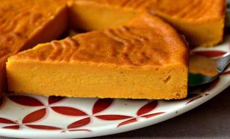 Le gâteau patate aux patates douces