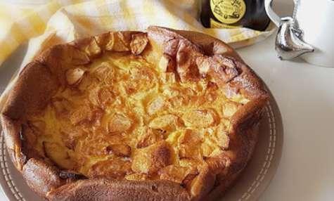 Far breton aux pommes-cannelle