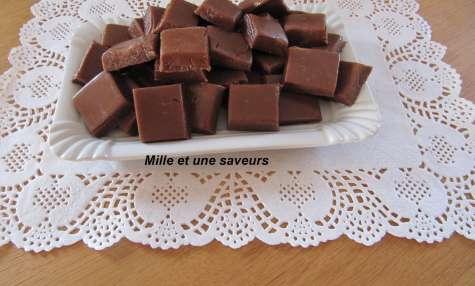 Caramel mou au chocolat au lait et à la fleur de sel