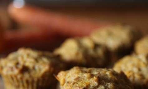 Muffins aux carottes et à l'orange