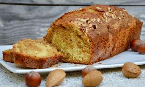 Cake marbré praliné