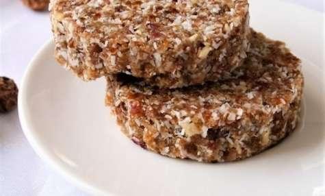 Cookies aux fruits secs crus