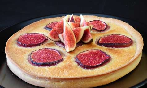 Tarte figue amande cannelle