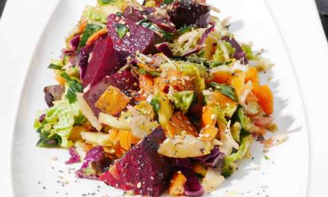 Ma salade «jamais malade», un délice aux 10 légumes et fruits !