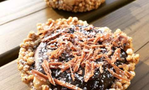 Tartelettes au chocolat et quinoa