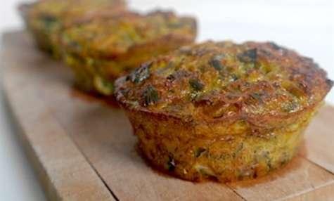 Muffin au quinoa et poireau