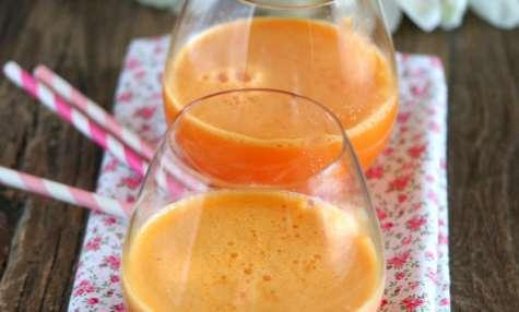 Jus de carottes bio et safran de Provence