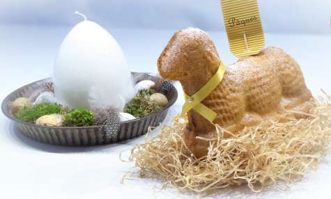 Osterlammele agneau de Pâques gâteau Alsacien