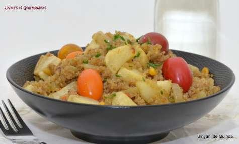 Quinoa façon biriyani végétarien
