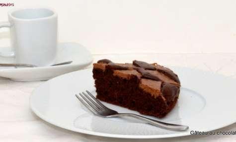 Gâteau au chocolat Nesquick