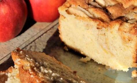 Cake aux Pommes et Mascarpone Ultra Moelleux